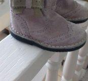 Ботиночки замшевые для девочки