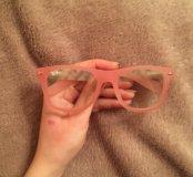 очки розовые ray ban