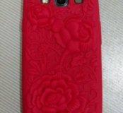 Чехол с розами на Samsung Galaxy S III
