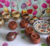 Глиняная жаропрочная посуда