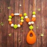 Бусы и браслет из пищевого силикона