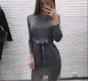 Новое платье с кружевным низом