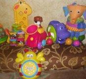 Фирменные игрушки от 6мес до 3-4лет
