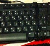 Клавиатура компьютерная проводная б/у