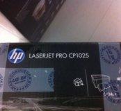 Цветной Лазерный принтер.HP Laserjet pro CP1025