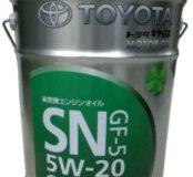 Масло моторное Toyota SN 5W-20, розлив с бочки.