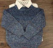 Рубашки и свитер