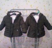 Куртки на девочку