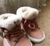 Zara baby ботинки