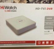 4-х канальный видеорегистратор HiWatch DS-H104G