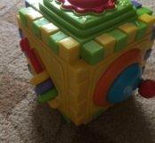 Игрушка кубик-пазл