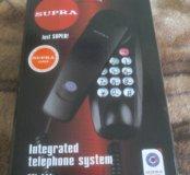 Телефон проводной домашний Supra