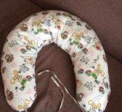 Большая Подушка для беременных и кормления ребёнка