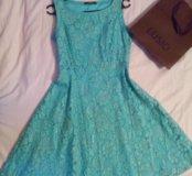 Платье Lusio бирюзовое