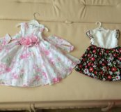 Праздничные платья на малышку Gulliver на 12-18 ме