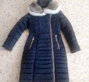 Пуховик пальто на пуху