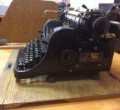 Продаётся печатная машинка Olympia 30 годов
