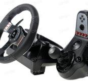 Компьютерный руль с педалями Logitech