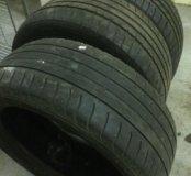 Летние шины Goodyear efficient grip 215/50 r17 3шт