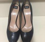 Туфли Dolce Gabbana кожаные