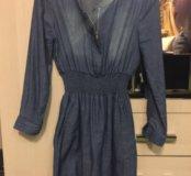 Платье х/б под джинс