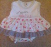 Платье боди на малышку