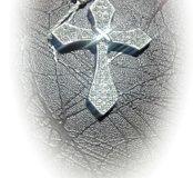 Крест 925 проба.Новый.