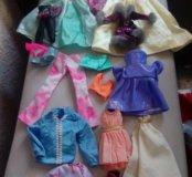 Одежда для кукол пакетом