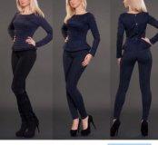 Новый костюм или итальянского трикотажа 46 размера