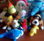 Мягкие игрушки 12шт