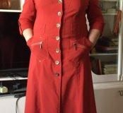 Платье сафари 54 56 58