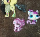 Пони и поющая кошка петшоп