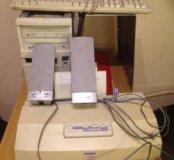 Системный блок + принтер + колонки + клавиатура