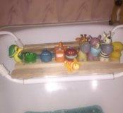 Резиновые игрушки в ванную