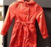 Легкое пальто- плащ