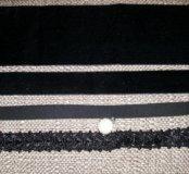 Чокер новый черный цветной яркий