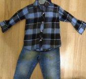Рубашка 1-2 года