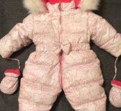 Детский зимний комбенизон на пуху