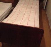 Кровать одно место с матрасом