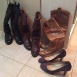 Женские сапоги, туфли.