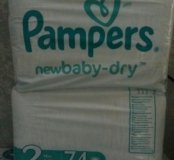 Подгузники Pampers NewBaby-Dry 2 (3-6кг) 74шт
