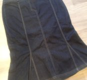 Джинсовая юбка etam