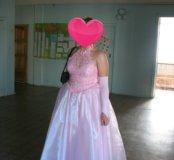 Выпускное (свадебное) платье в пол 44-46