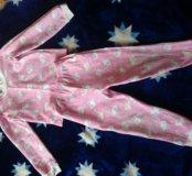 Пижама на флисе на девочку