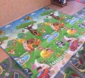 Детский коврик моющий