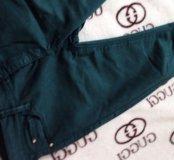 Зеленые брюки/ джинсы 🍀 Размер S