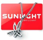 Подвеска стрекоза от Sunlight