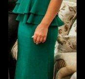 Платье с баской на прокат