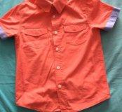 Летняя рубашка для мальчика