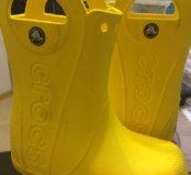 Бронь!Резиновые сапоги Crocs Крокс C10 16,3 см